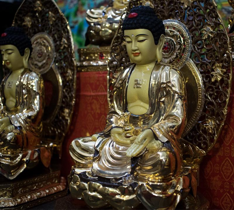 Bộ tượng Phật Dược Sư