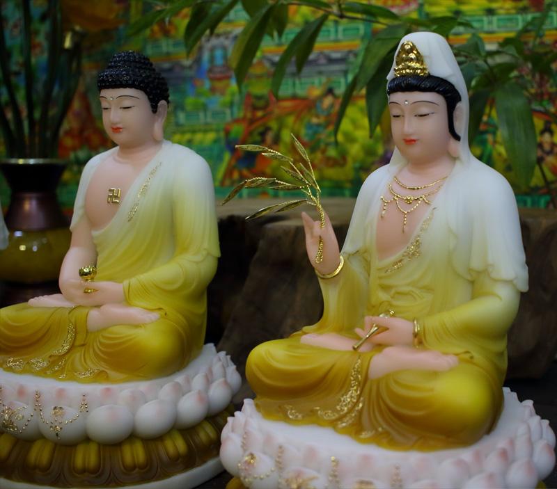 Tam Thế Phật ngồi