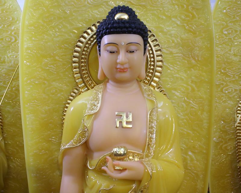 Tam Thế Phật thạch anh
